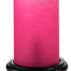 COPY - Pink zebra simmer light